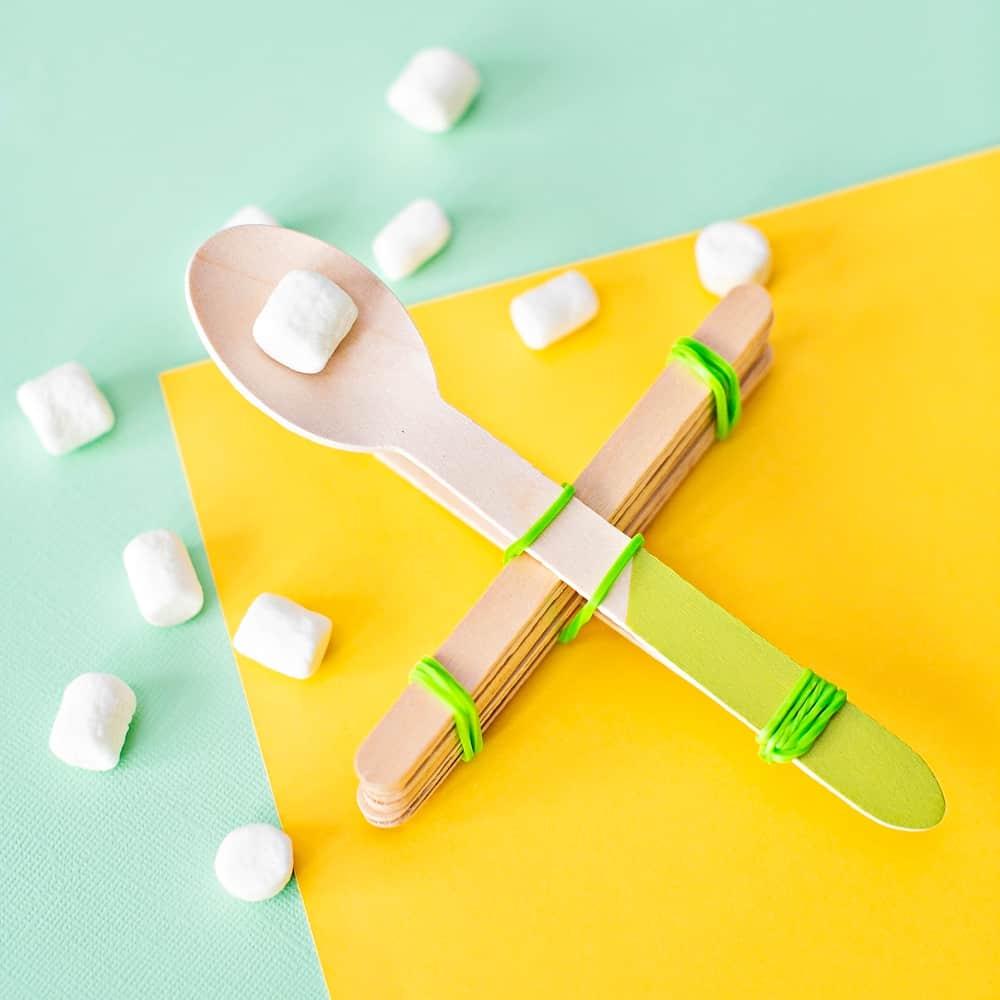 DIY Marshmallow Catapult