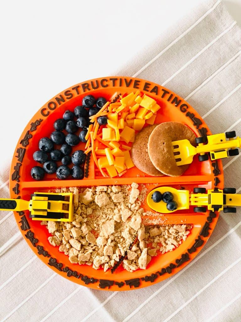 Construction Plate for Kids