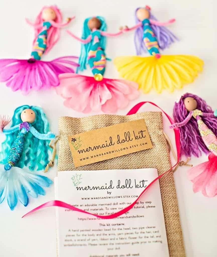 diy mermaid doll kit