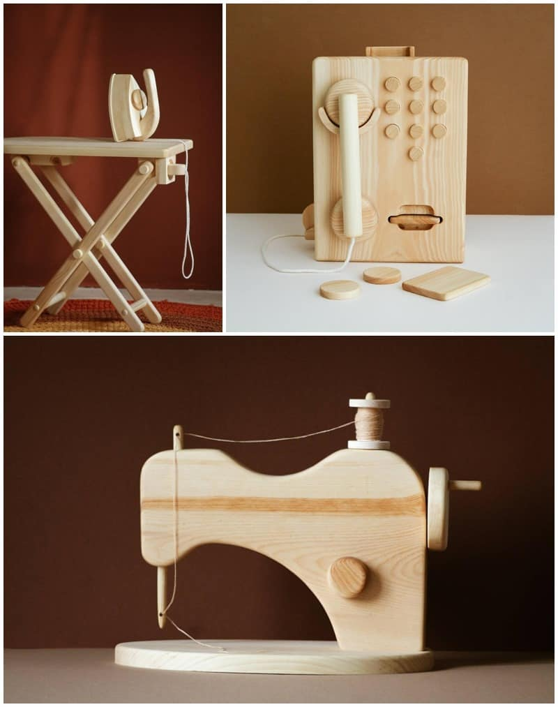 beautiful wooden toys for kids