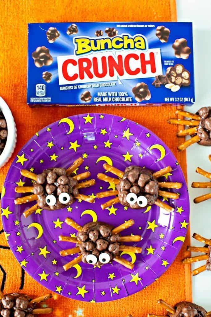 HALLOWEEN CHOCOLATE SPIDER COOKIES