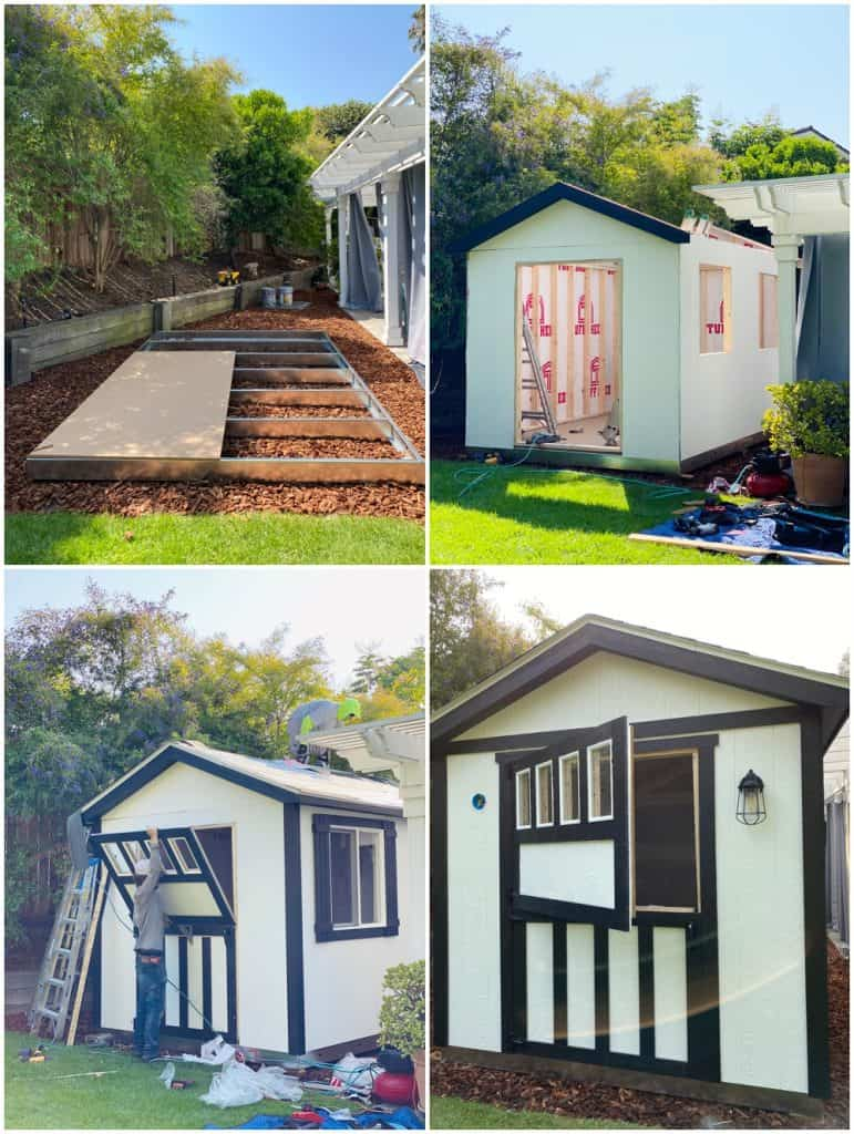 she shed design and building