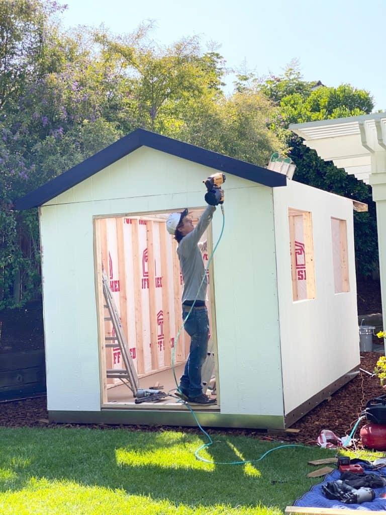 shed design building process