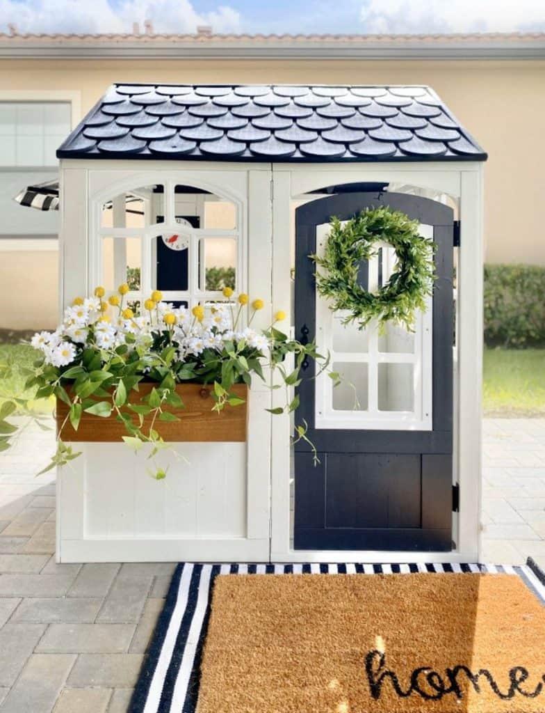 modern farmhouse playhouse