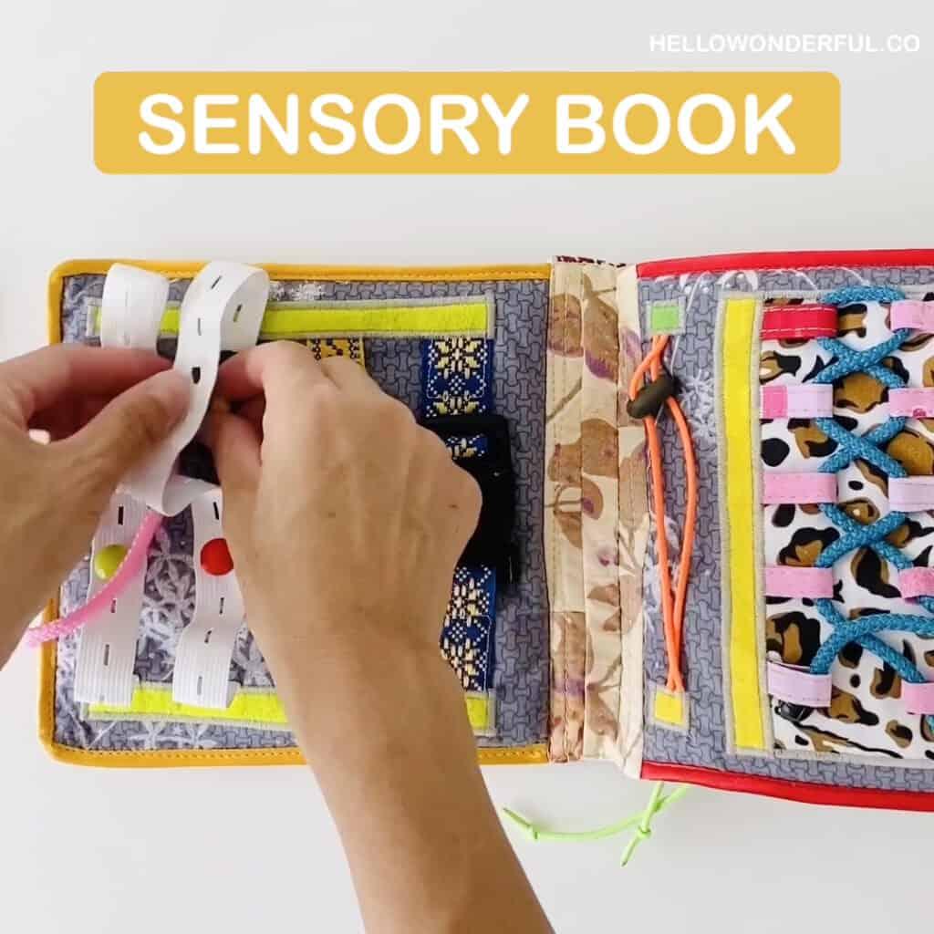 Sensory Busy Book
