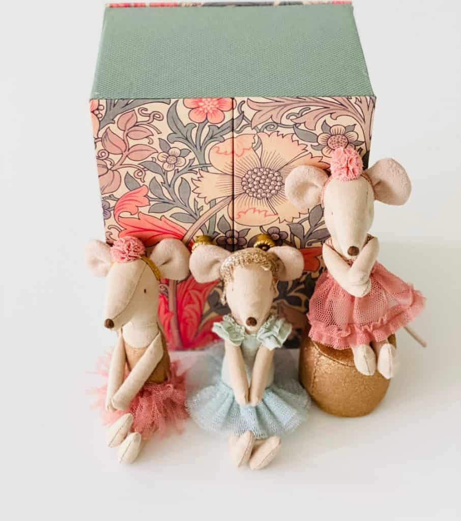 Ballerina Mouse Toy