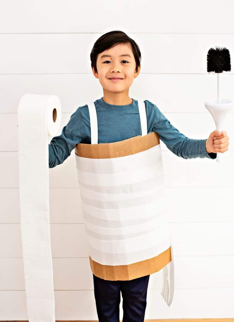 DIY Toilet Paper Costume