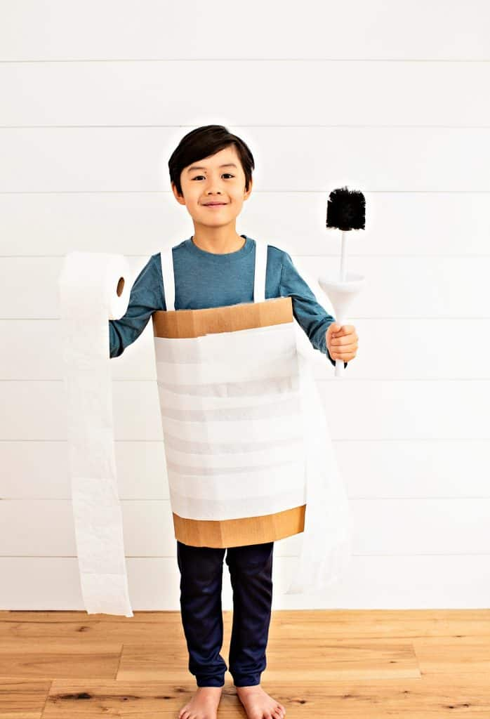 paper toilet roll halloween costume