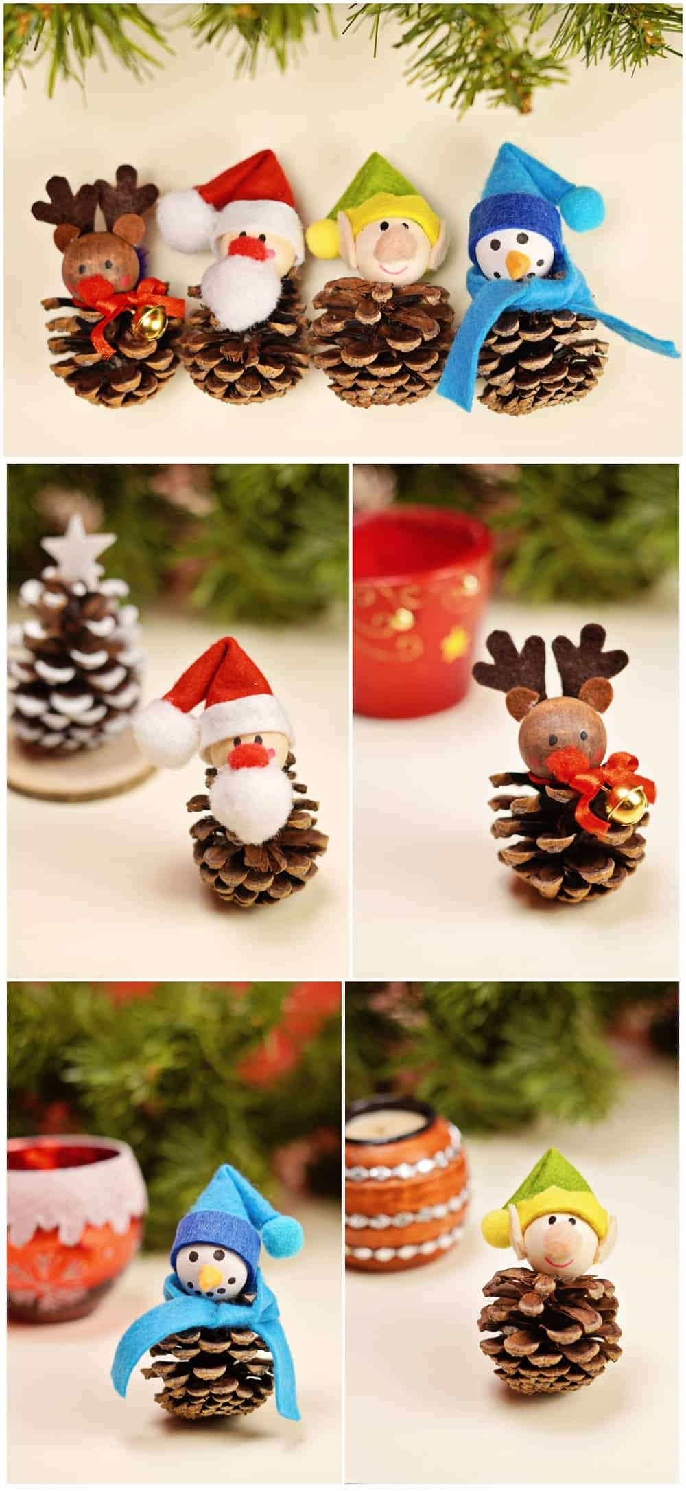 easy pinecone craft for kids for family fun