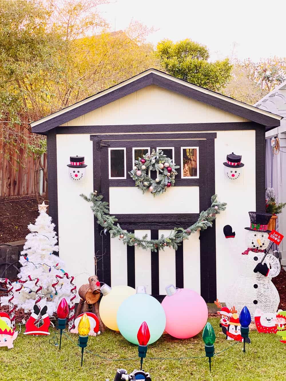 CHRISTMAS SHED PLAYHOUSE