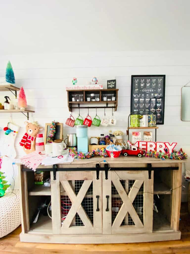 Christmas Coffee Bar