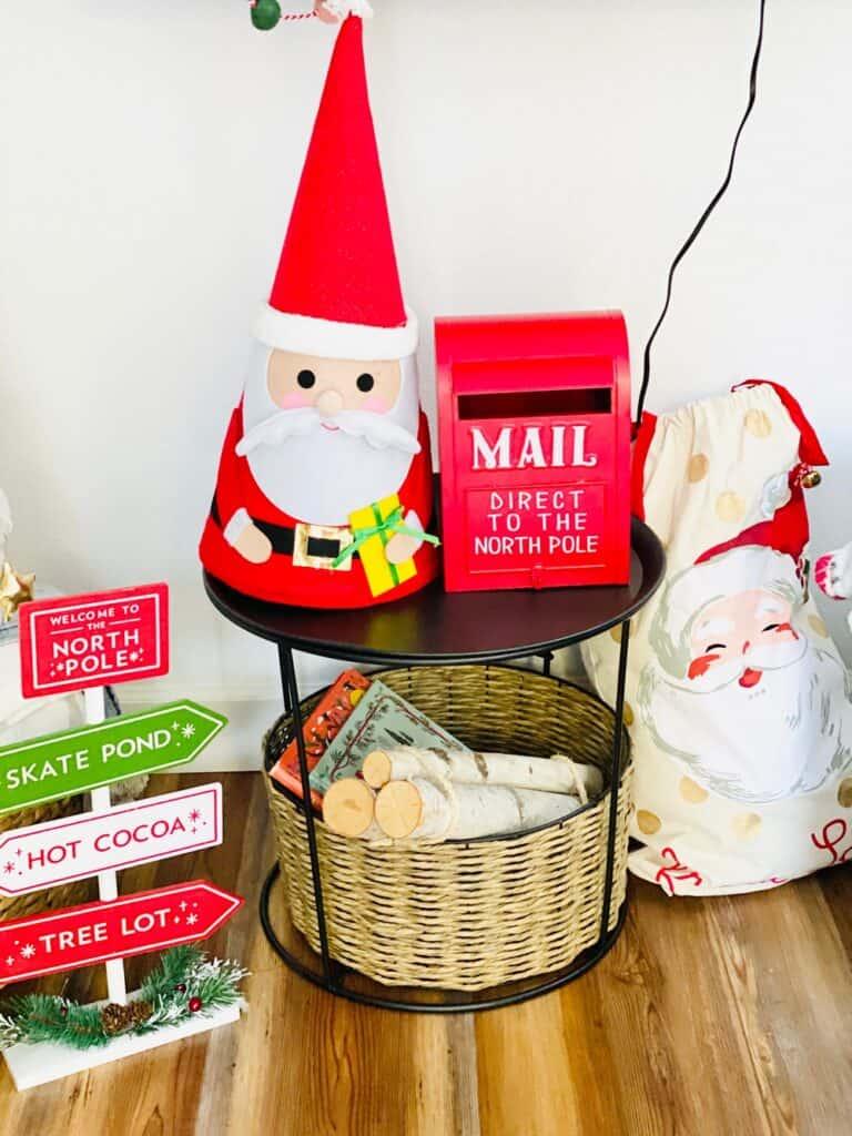 Santa Mailbox for Kids