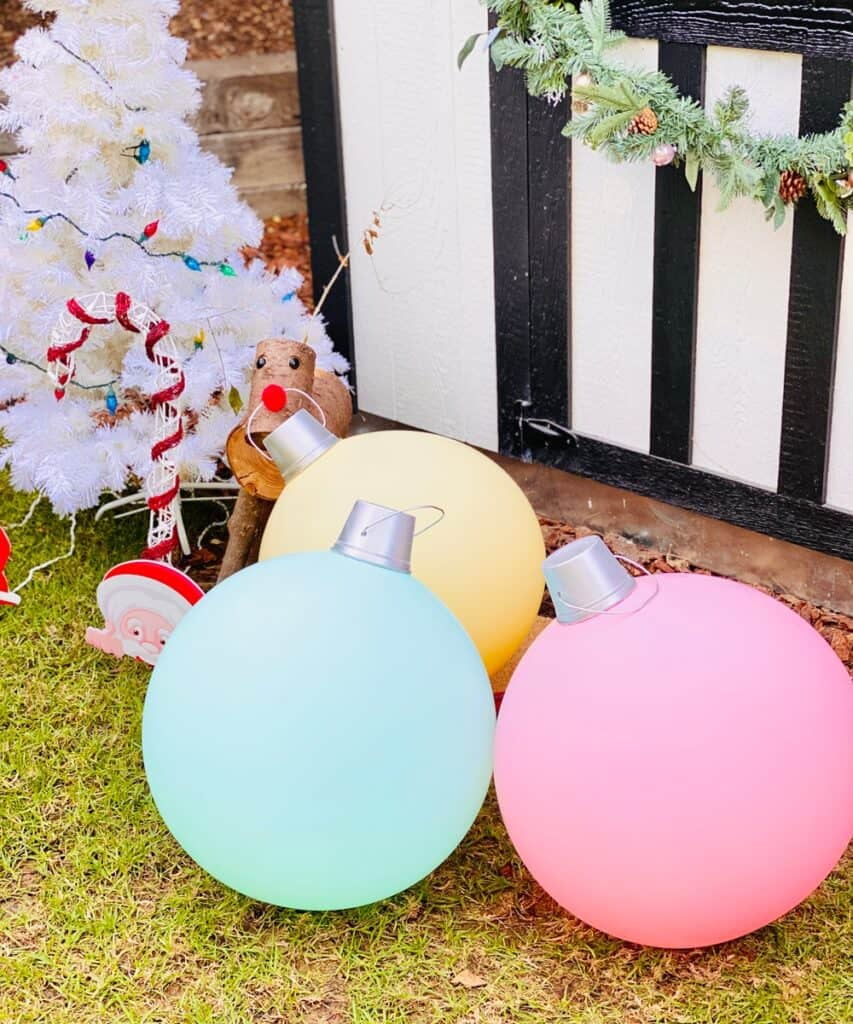 Giant DIY Ornaments
