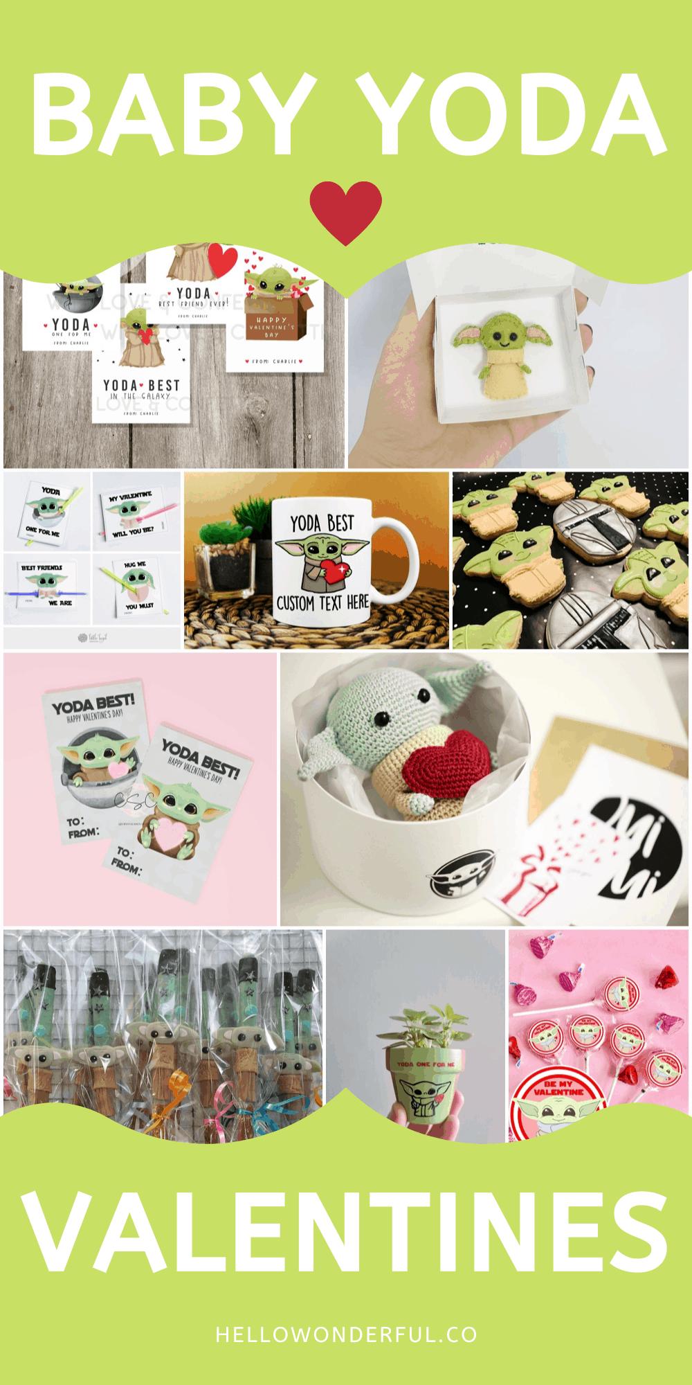 Baby Yoda Valentine Gifts for Kids