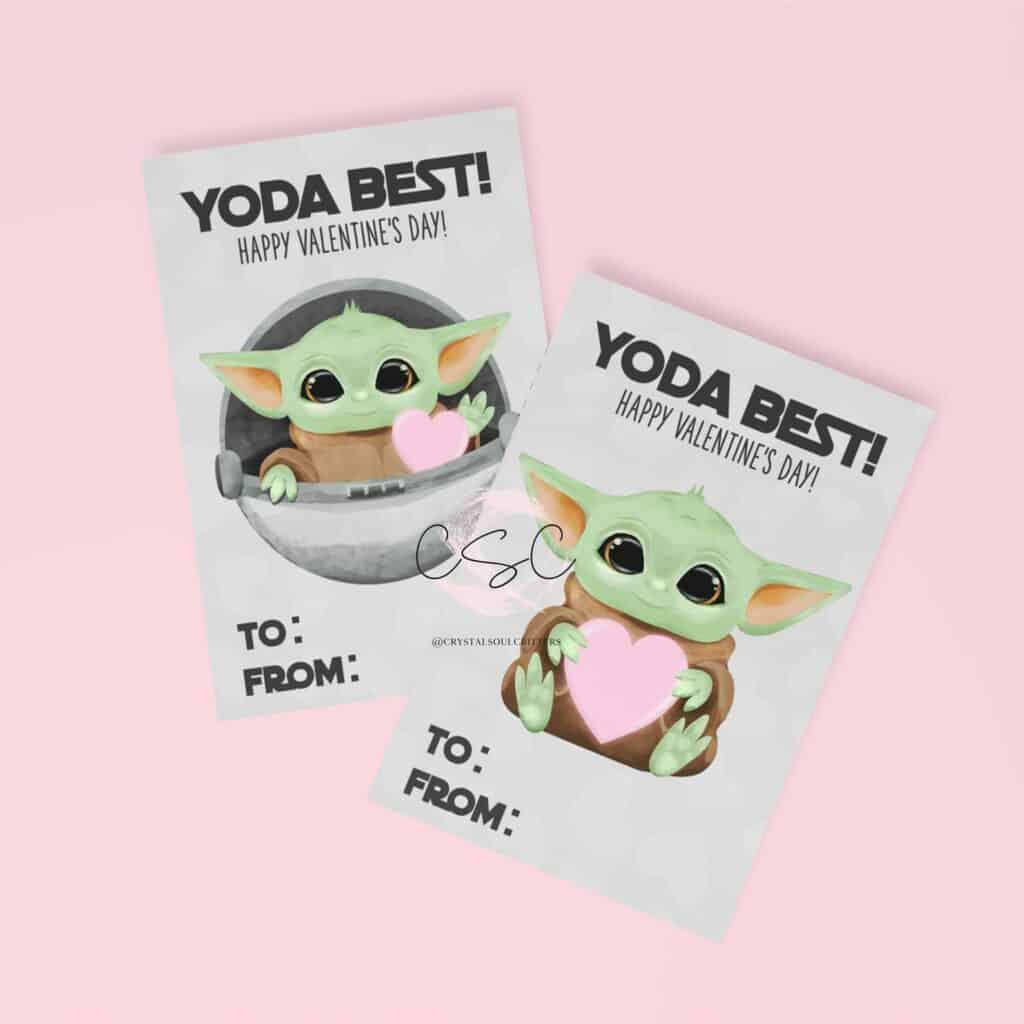 yoda best valentine card