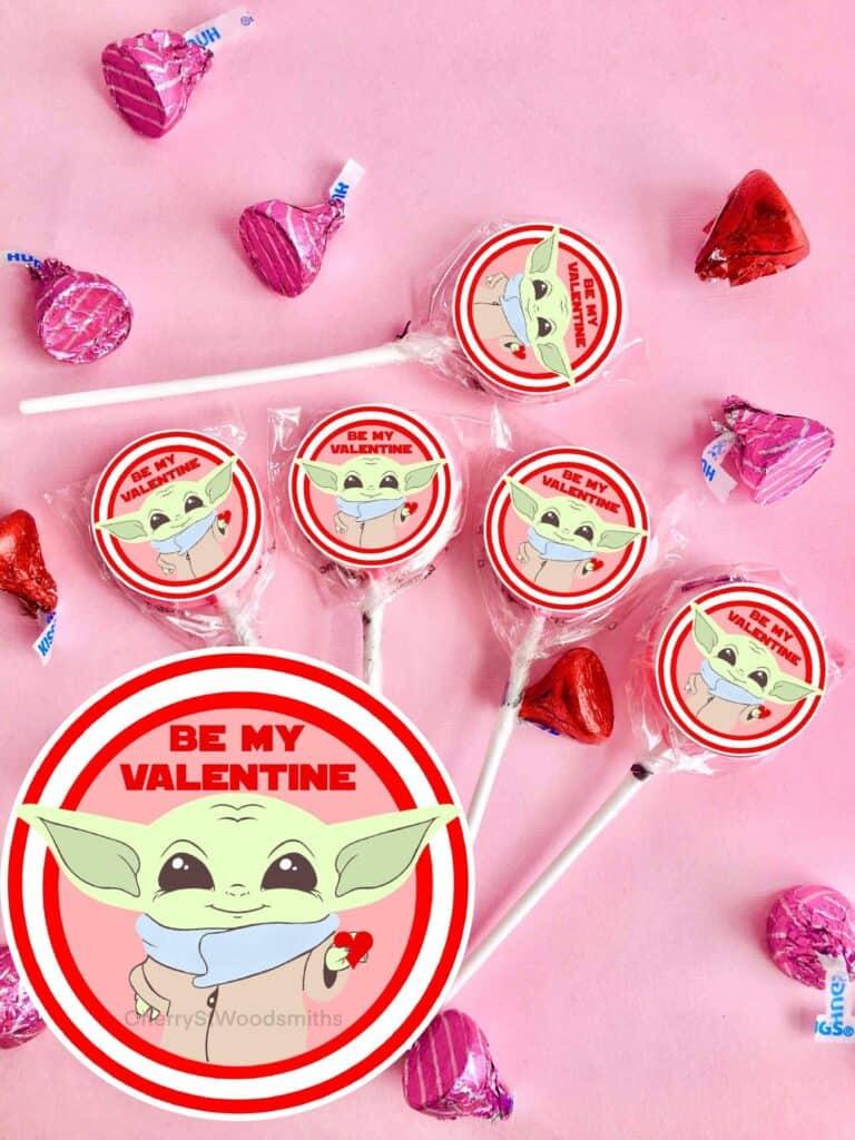 yoda lollipop favors