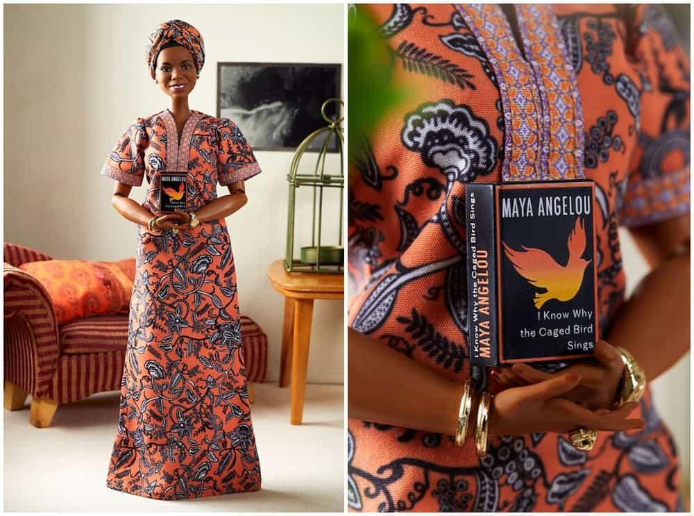 Maya Angelou Barbie - Inspiring Women Series Latest Doll