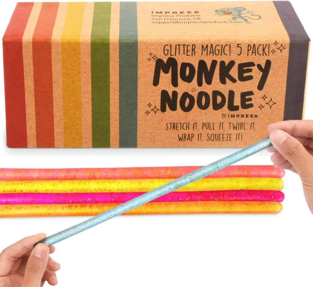Monkey Noodles Sensory toy for kids