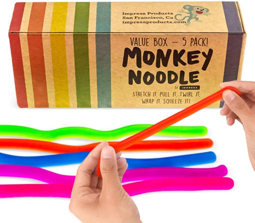Monkey Noodles Sensory Toys