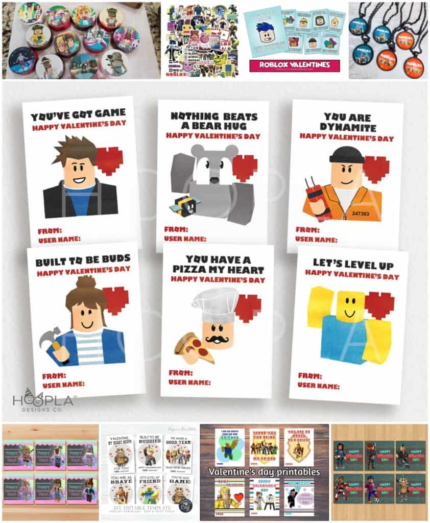 Roblox Valentines for Kids
