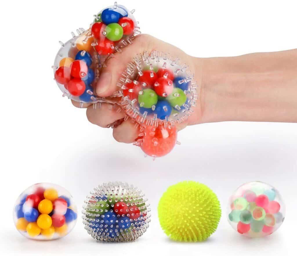 small sensory stress balls