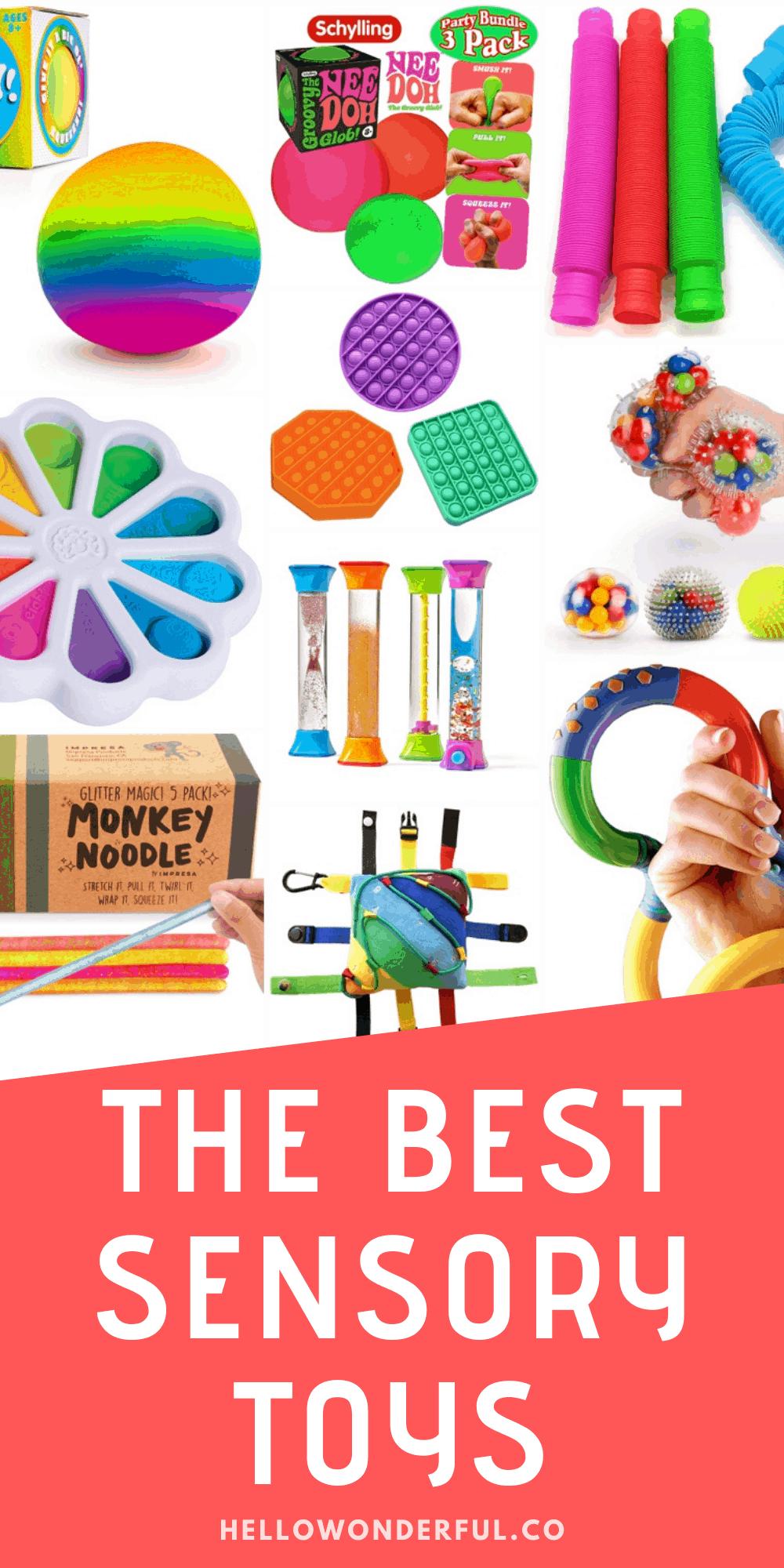 the best sensory toys for kids 2021