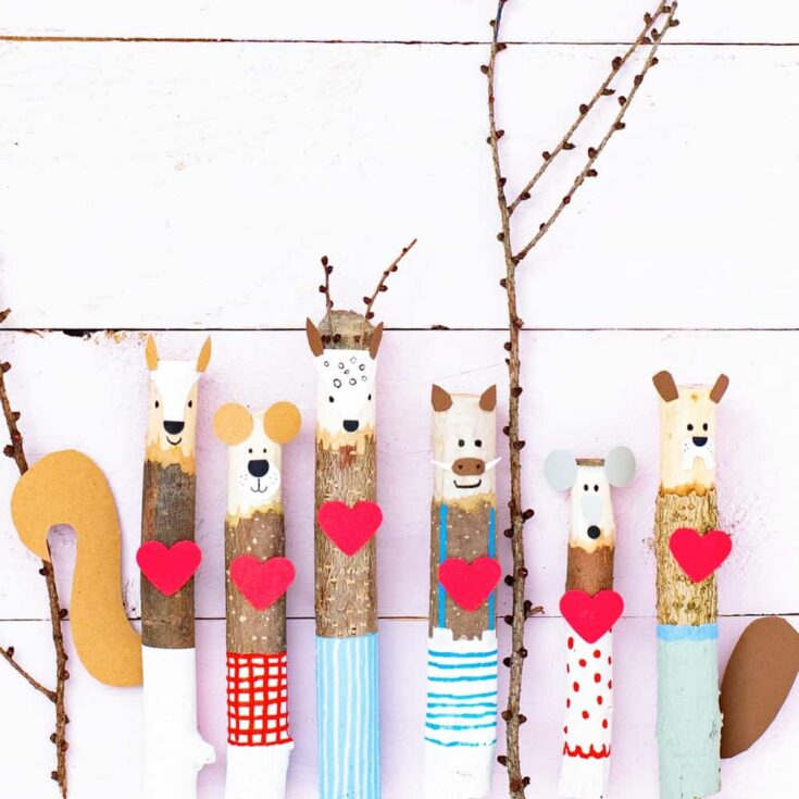VALENTINE STICK CRAFT