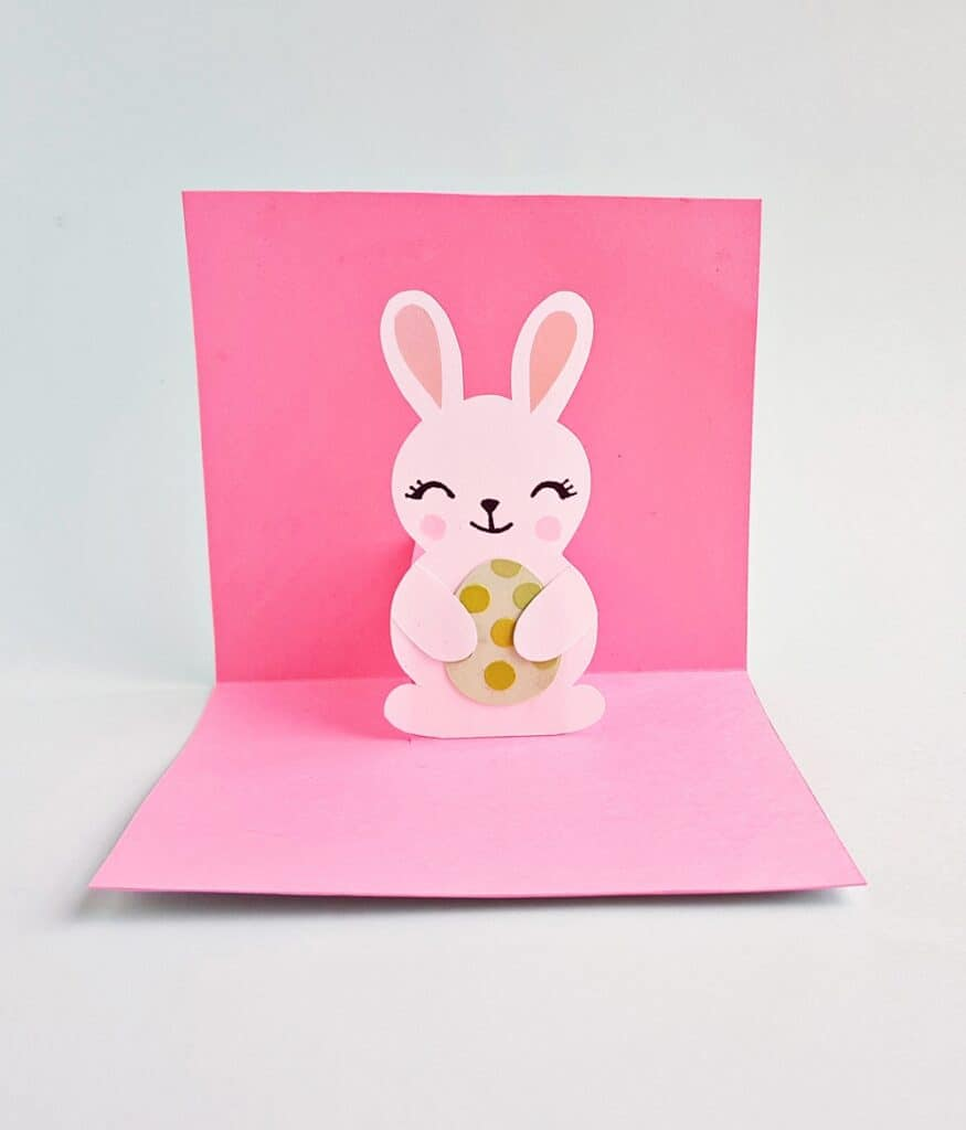 POP-UP BUNNY EASTER CARD CRAFT