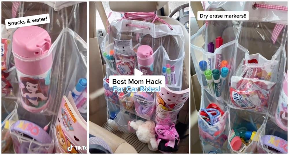 car ride mom hack