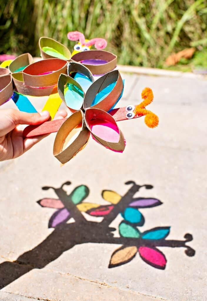 Butterfly Suncatcher Craft