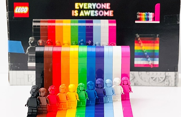 Everyone is Awesome LEGO Set