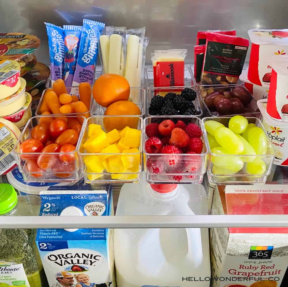 help yourself snacks