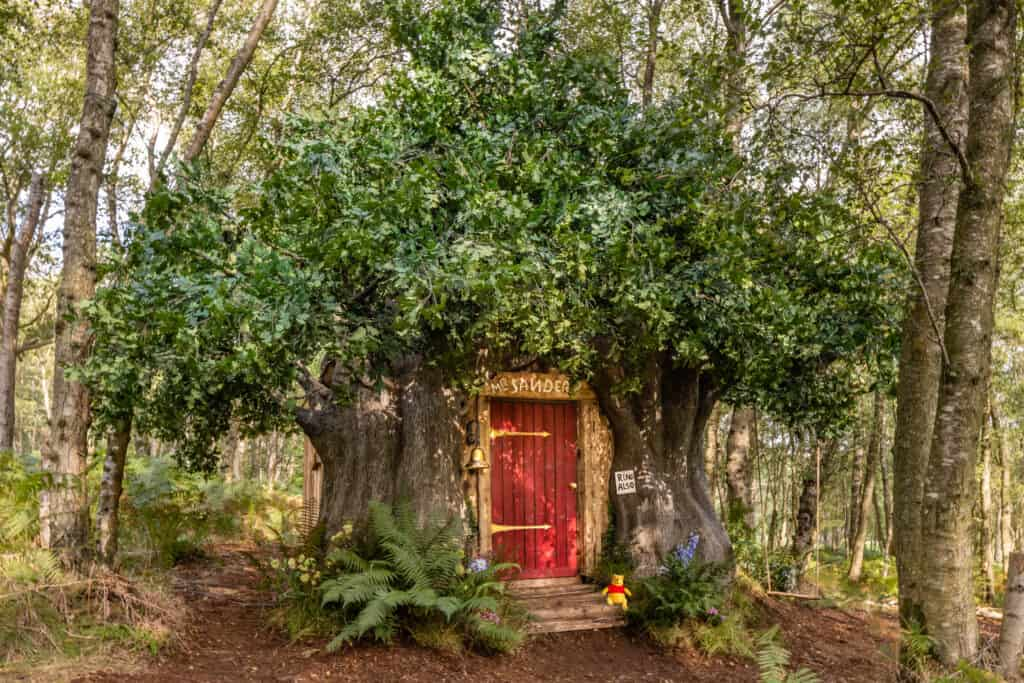 Winnie the Pooh Airbnb Treehouse