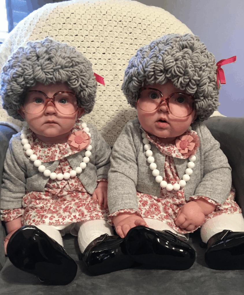 grandma wig costume kids