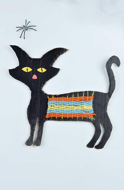 Halloween Black Cat Craft
