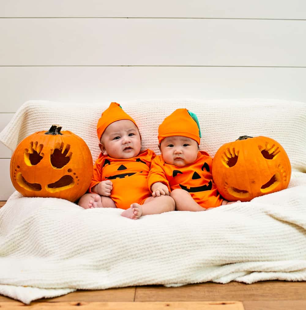 Baby Pumpkin Handprint