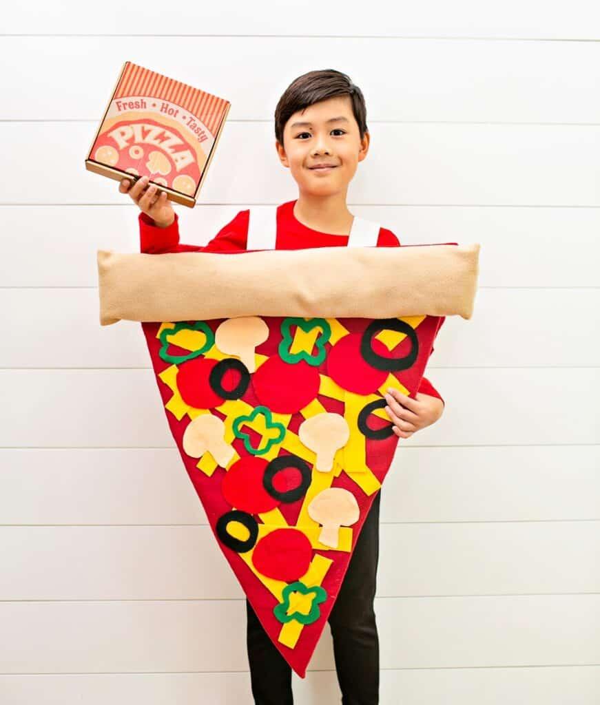 DIY Pizza Costume