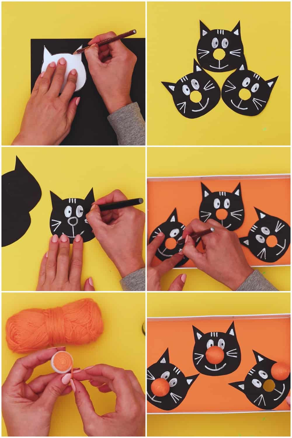 cat craft ball game