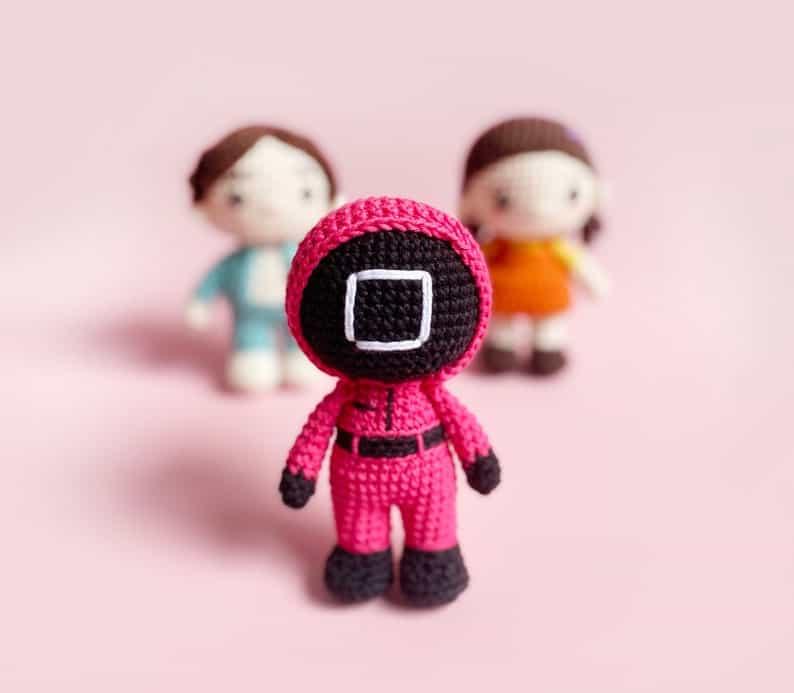 Squid Game Crochet Doll